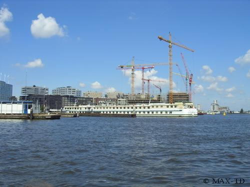 MS Swiss Crystal in Amsterdam