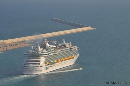 MS Liberty of the Seas in Barcelona