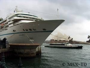 MS Amadea in Sydney