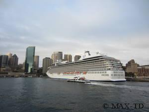 MS Marina in Sydney