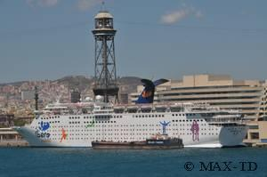 Kreuzfahrthafen Barcelona Fotos Von Kreuzfahrtschiffen In Barcelona