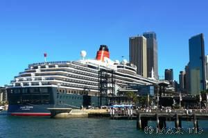Sydney Harbour: MS Queen Victoria