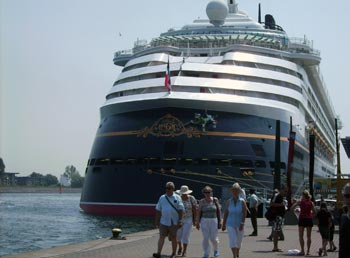 Disney magic in Warnemünde