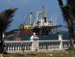 Hafen von Colón