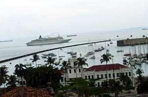 Kreuzfahrtschiffe in Salvador da Bahia