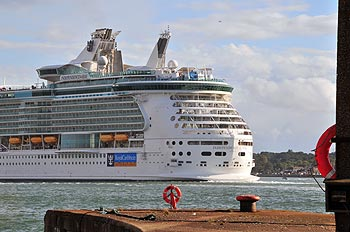 Independance of the Seas in Southampton